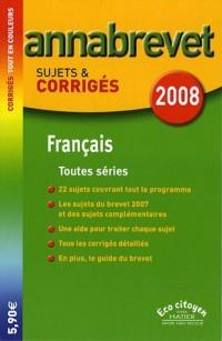 Français Brevet toutes séries : Sujets et corrigés