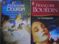 francoise bourdin - lot de 2 titres : terre indigo - la camarguaise (éditions j'ai lu)