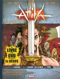 Attila (1 livre + 1 DVD) : Un barbare défie l'empire