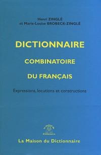 Dictionnaire combinatoire du français