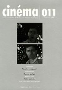 Cinéma, N° 011, Printemps 20 :  (1DVD)