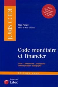 Code monétaire et financier (ancienne édition)