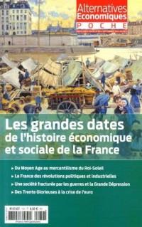 Alternatives économiques, Hors-série poche N° 69, Septembre 2014 : Les grandes dates de l'histoire économique et sociale de la France