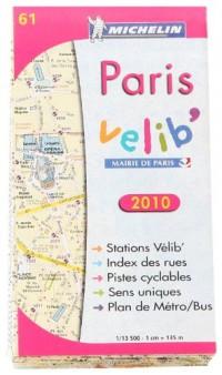 Paris Vélib' : 1/13 500