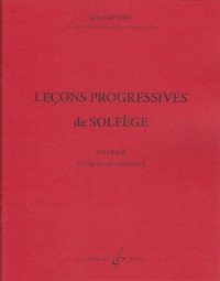 32 Lecons Progressives de Solfege Volume 2