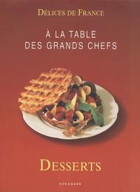 Délice de France : Desserts