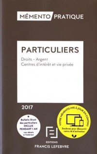 MEMENTO DROIT DES PARTICULIERS 2017