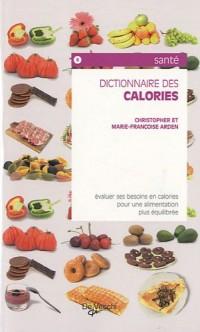 Dictionnaire des calories