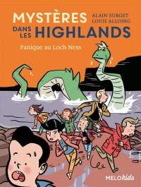 Mysteres Dans les Highlands (Tome 3) - Panique au Loch Ness