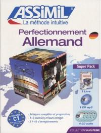 Perfectionnement allemand : Avec 4 CD audio (1CD audio MP3)