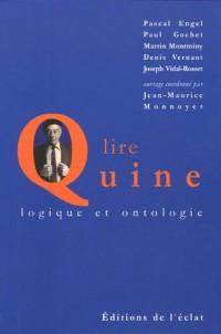 Lire Quine : Logique et ontologie