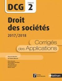 Droit des sociétés - 2e édition