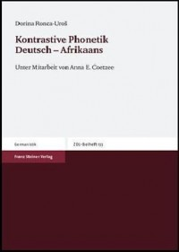 Kontrastive Phonetik Deutsch Afrikaans;