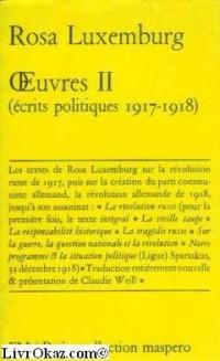 Oeuvres de Rosa Luxemburg, tome 2