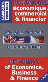 Dictionnaire economique  commercial et financier anglais-français