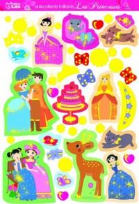 Autocollants brillants Les Princesses : Emeraude