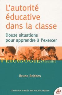 Pratique de l'autorité dans la classe