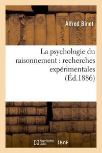 La Psychologie du Raisonnement  ed 1886