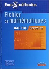 Mathématiques, Bac pro tertiaire (Manuel)