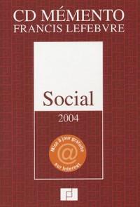 Mémento social 2004 : Droit du travail - Sécurité sociale (CD-Rom)
