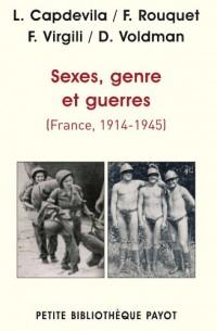 Sexes, genre et guerres (France 1914-1945)