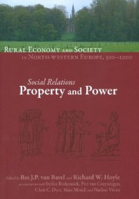 Rural Economy and Society in North-Western Europe, 500-2000