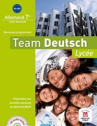 Team Deutsch Lycee Terminale Livre Eleve + CD