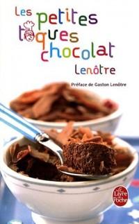 Les petites toques chocolat Lenôtre