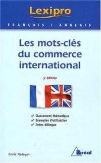 Les mots-clés du commerce international