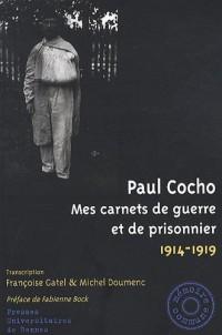 Mes carnets de guerre et de prisonnier 1914-1919
