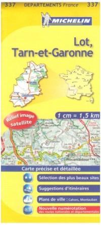 Lot, Tarn-et-Garonne : 1/150 000