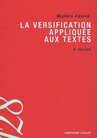 La versification appliquée aux textes