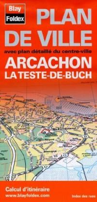 Plan d'Arcachon et de La Teste-de-Buch