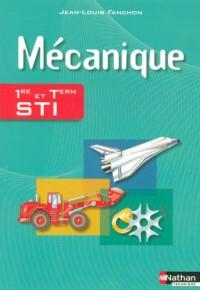 Mécanique 1e et Tle STI