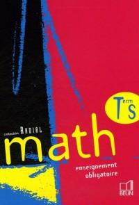 Math Tle S : Enseignement obligatoire