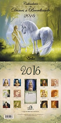 CALENDRIER 2016 DES FEES