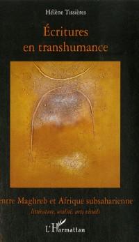 Ecritures en transhumance entre Maghreb et Afrique subsaharienne