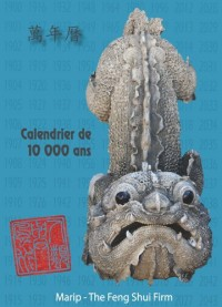 Calendrier de 10 000 Ans (Dix Mille Ans) - Calendrier Chinois - 1900-2043