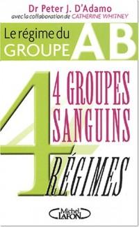 4 groupes sanguins 4 régimes : Le régime du groupe AB