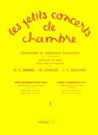 Les petits concerts de chambre Volume 1