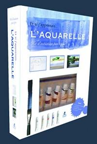 Coffret Aquarelle - et si j'apprenais