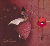 L'amoureux : 20 cartes de correspondance et 20 enveloppes