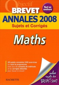 Maths Brevet : Annales 2008