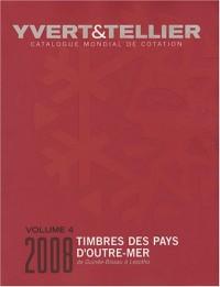 Catalogue de timbres-poste des Pays d'Outre-Mer : Volume 4, Guinée-Bissau à Lesotho