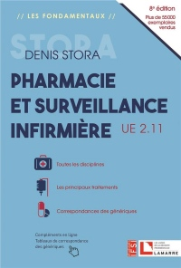 Pharmacie et surveillance infirmière, UE 2.11: Les familles de médicaments - Toutes les disciplines - Correspondances des génér