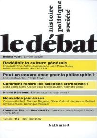 Le Debat 145 (Mai-Aout 2007)