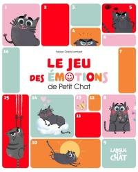 Le jeu des émotions de Petit Chat - Mon triptyque rigolo