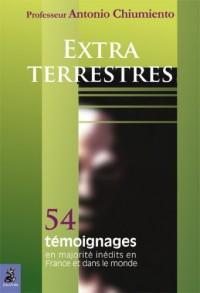 Extra-terrestres : 54 témoignages, en majorité inédits en France et dans le monde
