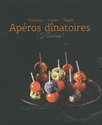 Coffret Apéros dînatoires : Verrines, Cakes, Tapas