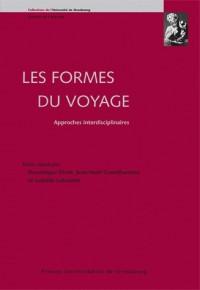 Les formes du voyage : Approches interdisciplinaires